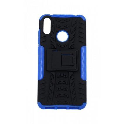 Ultra odolný zadný kryt na Huawei Y7 2019 modrý