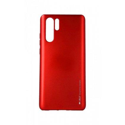 Zadný kryt Mercury iJelly Metal na Huawei P30 Pro červený