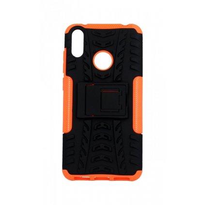 Ultra odolný zadný kryt na Huawei Y7 2019 oranžový