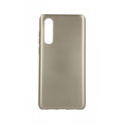 Zadný kryt Mercury iJelly Metal na Huawei P30 zlatý
