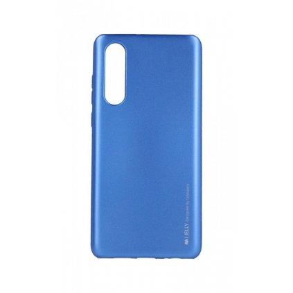 Zadný kryt Mercury iJelly Metal na Huawei P30 modrý