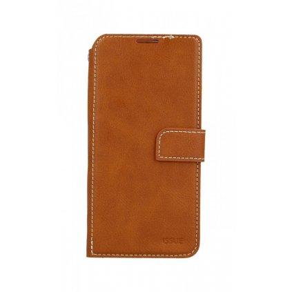 Flipové puzdro Molan Cano Issue Diary na Huawei P30 hnedé
