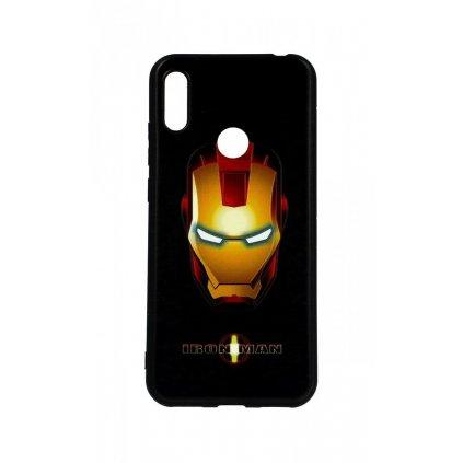 Zadný 3D silikónový kryt na Huawei Y6 2019 Iron Man