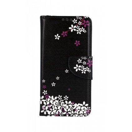 Flipové puzdro na Huawei P30 Lite Kvety sakury