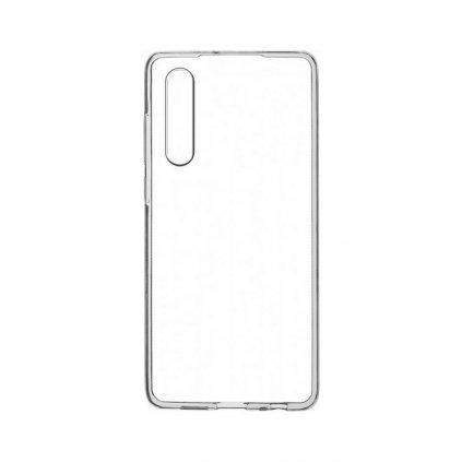 Zadný kryt Swissten Clear Jelly na Huawei P30 priehľadný