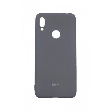 Zadný silikónový kryt Roar na Huawei Y6 2019 sivý