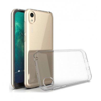Zadný silikónový kryt na Huawei Y5 2019 1 mm priehľadný