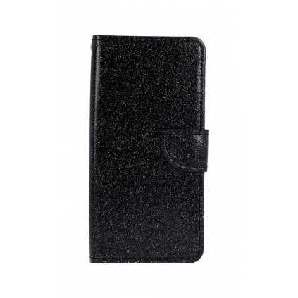 Flipové puzdro na Huawei Y5 2019 glitter čierne
