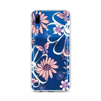 Zadný silikónový kryt na Huawei P Smart Z Flowers