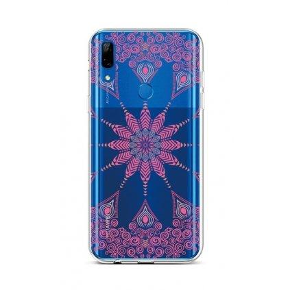 Zadný silikónový kryt na Huawei P Smart Z Pink Mandala