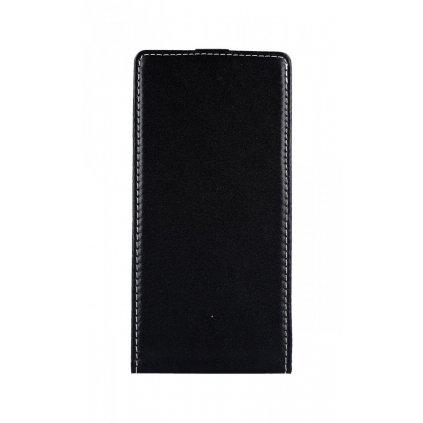 Flipové puzdro Slim Flexi na Huawei P Smart Z čiernej