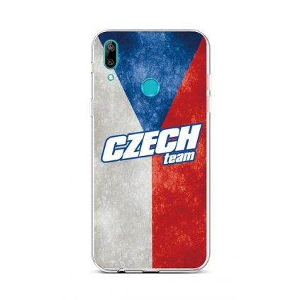 Zadný silikónový kryt na Huawei Y6 2019 Czech Team