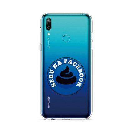 Zadný silikónový kryt na Huawei Y6 2019 Facebook