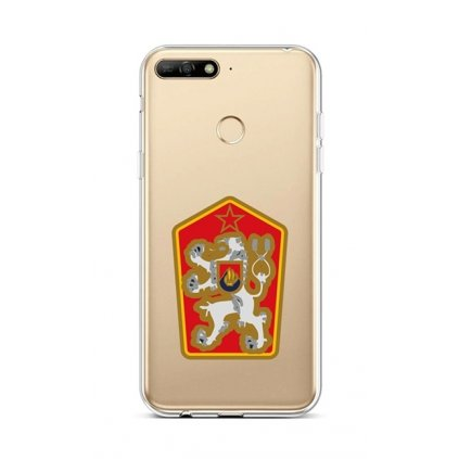 Zadný silikónový kryt na Huawei Y6 Prime 2018 Štátny znak
