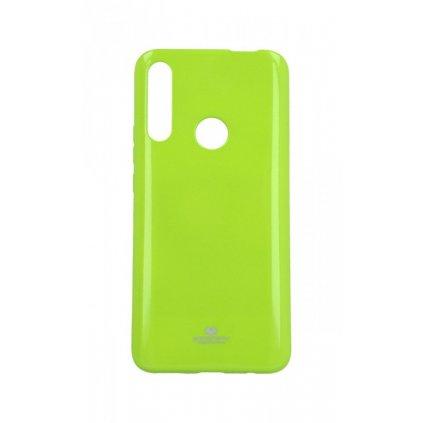 Zadný silikónový kryt Mercury Jelly Case na Huawei P Smart Z limetkový