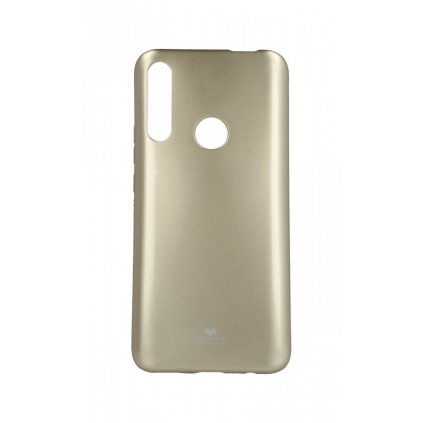 Zadný silikónový kryt Mercury Jelly Case na Huawei P Smart Z zlatý