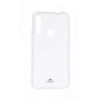Zadný silikónový kryt Mercury Jelly Case na Huawei P Smart Z priehľadný