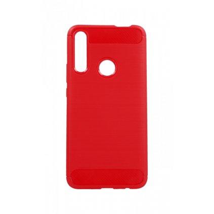 Zadný silikónový kryt na Huawei P Smart Z červený