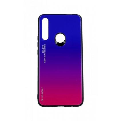 Zadný pevný kryt LUXURY na Huawei P Smart Z dúhový fialový