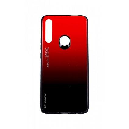 Zadný pevný kryt LUXURY na Huawei P Smart Z dúhový červený