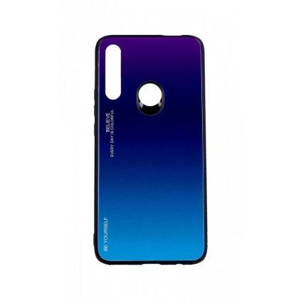 Zadný pevný kryt LUXURY na Huawei P Smart Z dúhový purpurový