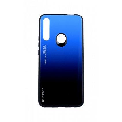 Zadný pevný kryt LUXURY na Huawei P Smart Z dúhový modrý