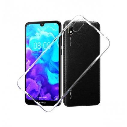 Ultratenký silikónový kryt na Huawei Y5 2019 0,5 mm priehľadný