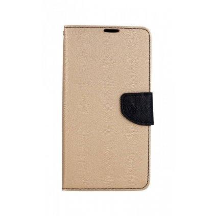 Flipové puzdro na Huawei P Smart Z čierno-zlaté