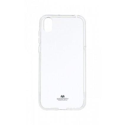 Zadný silikónový kryt Mercury Jelly Case na Huawei Y5 2019 priehľadný