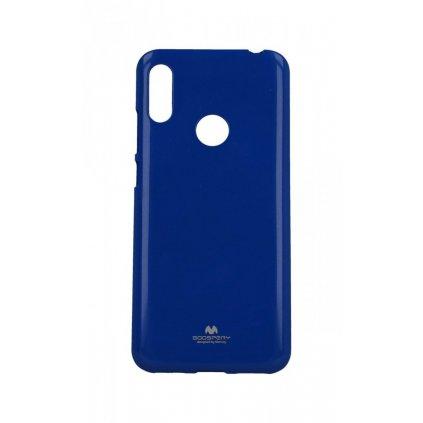 Zadný silikónový kryt Mercury Jelly Case na Huawei Y6 2019 modrý