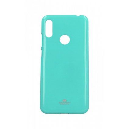 Zadný silikónový kryt Mercury Jelly Case na Huawei Y6 2019 mentolový
