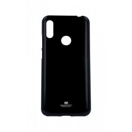Zadný silikónový kryt Mercury Jelly Case na Huawei Y6 2019 čierny