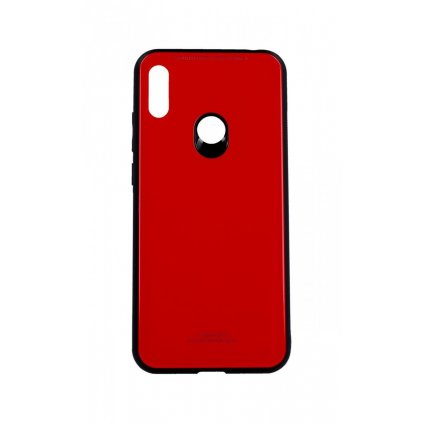 Zadný pevný kryt Forcell LUXURY na Huawei Y6 2019 červený