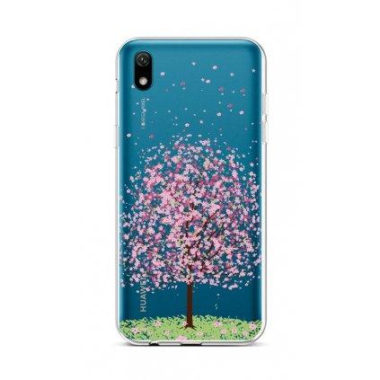 Zadný silikónový kryt na Huawei Y5 2019 Blossom Tree