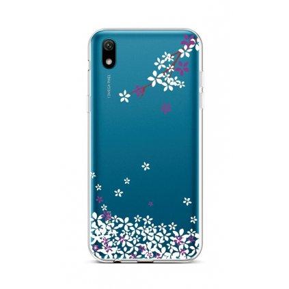 Zadný silikónový kryt na Huawei Y5 2019 Kvety sakury