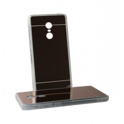 Zadný zrkadlový kryt na Xiaomi Redmi Note 4 Global silikón ružový VADA