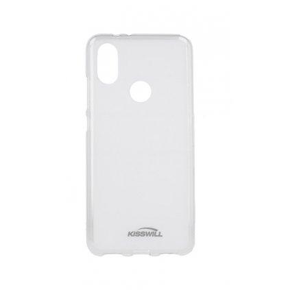 Zadný silikónový kryt Kisswill na Xiaomi Mi A2 svetlý