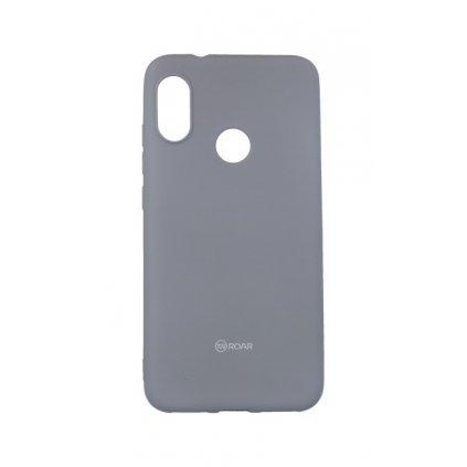 Zadný silikónový kryt Roar na Xiaomi Mi A2 Lite sivý