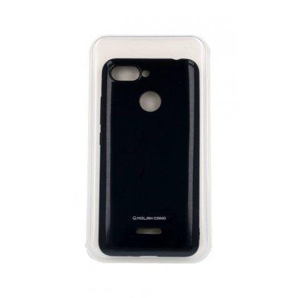 Zadný silikónový kryt Molan Cano Jelly na Xiaomi Redmi 6 čierny