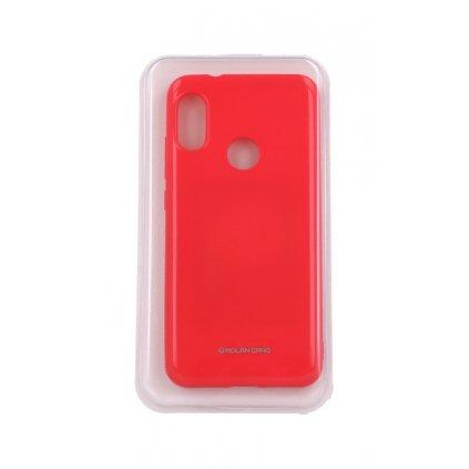Zadný silikónový kryt Molan Cano Jelly na Xiaomi Mi A2 Lite ružový