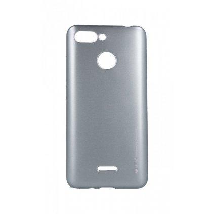 Zadný kryt Mercury iJelly Metal na Xiaomi Redmi 6 šedý