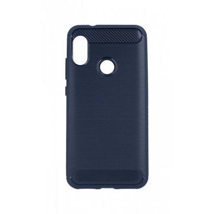 Zadný silikónový kryt na Xiaomi Mi A2 Lite modrý