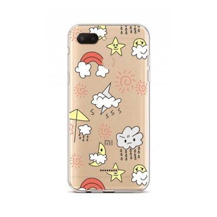 Zadný silikónový kryt na Xiaomi Redmi 6 Rainy Day