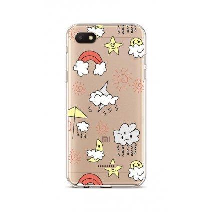 Zadný silikónový kryt na Xiaomi Redmi 6A Rainy Day