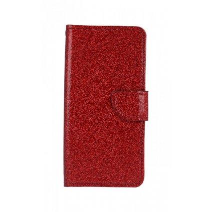 Flipové puzdro na Xiaomi Redmi 6A glitter červené