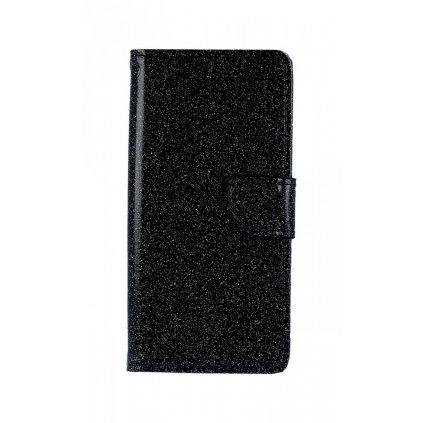 Flipové puzdro na Xiaomi Redmi 6A glitter čierne