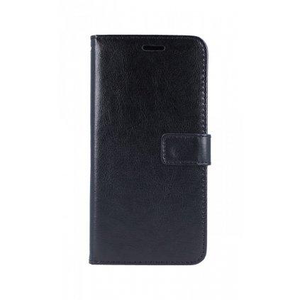 Flipové puzdro na Xiaomi Redmi Note 7 čierne koženka