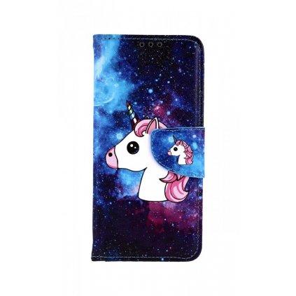 Flipové puzdro na Xiaomi Redmi Note 7 Space Unicorn