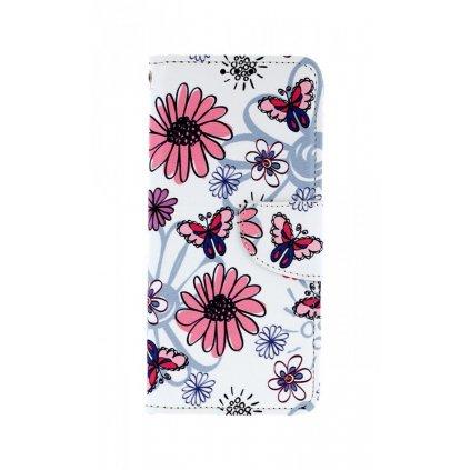 Flipové puzdro na Xiaomi Redmi Note 7 Flowers
