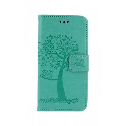 Flipové puzdro na Xiaomi Redmi Note 7 Zelený strom sovičky